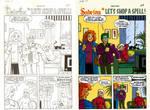 Digital Coloring Sample - Sabrina #23 PG 27