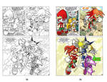 Sonic The Hedgehog 39-Mecha Maddness (color sample