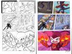 Digital Coloring Sample - Digimon Tamers