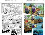 Sonic Universe- Issue 72(colorist sample)