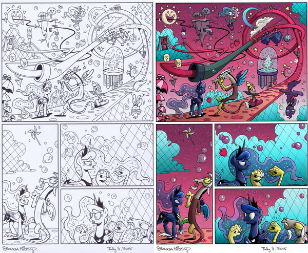 MLP: FF #20 - Coloring Sample
