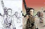 Star Wars Riley - Coloring Sample