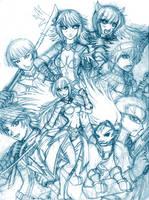Shadowdawn Genesis cast WIP by fyrefoxz