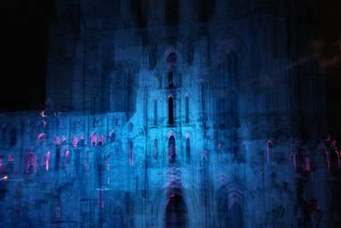 Blue Abbey by Dune-sea