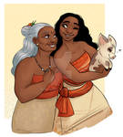 Moana: She named me after the sea