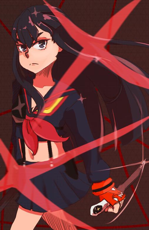 Satsuki//Senketsu by kirakiraillusion