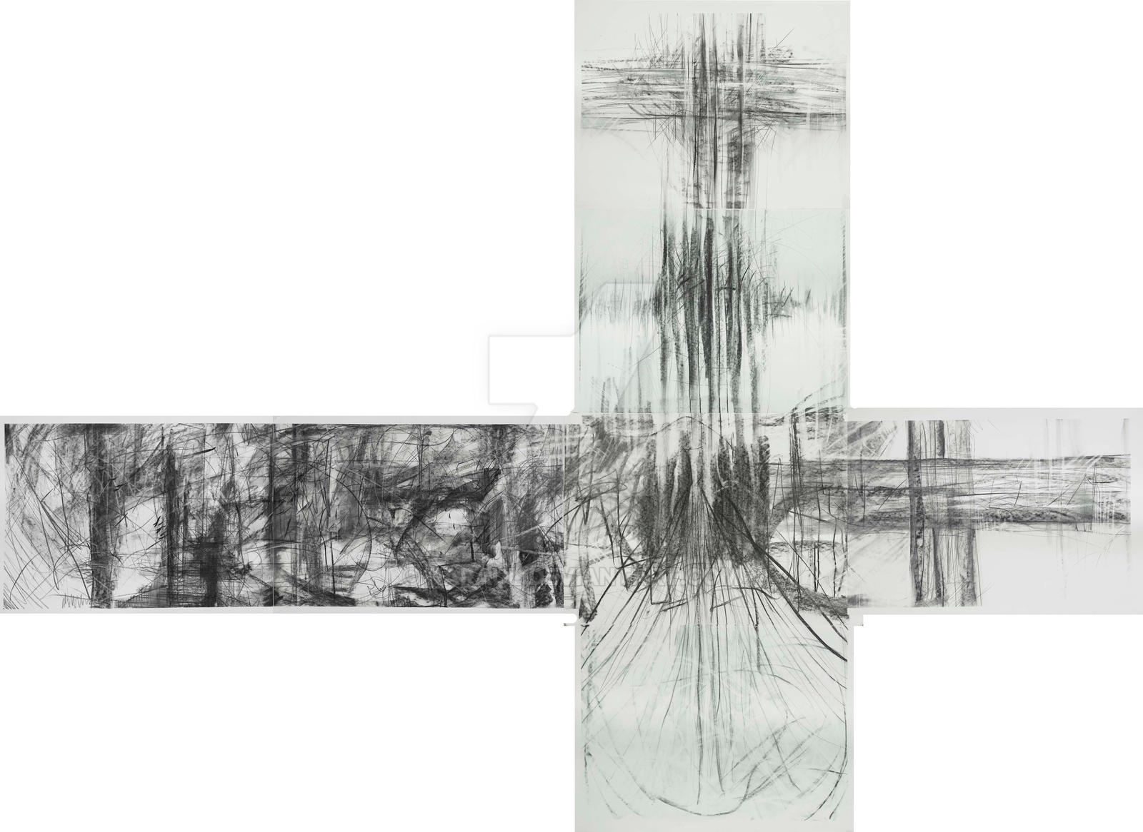 Dante Alighieri: The Cross by Karaul