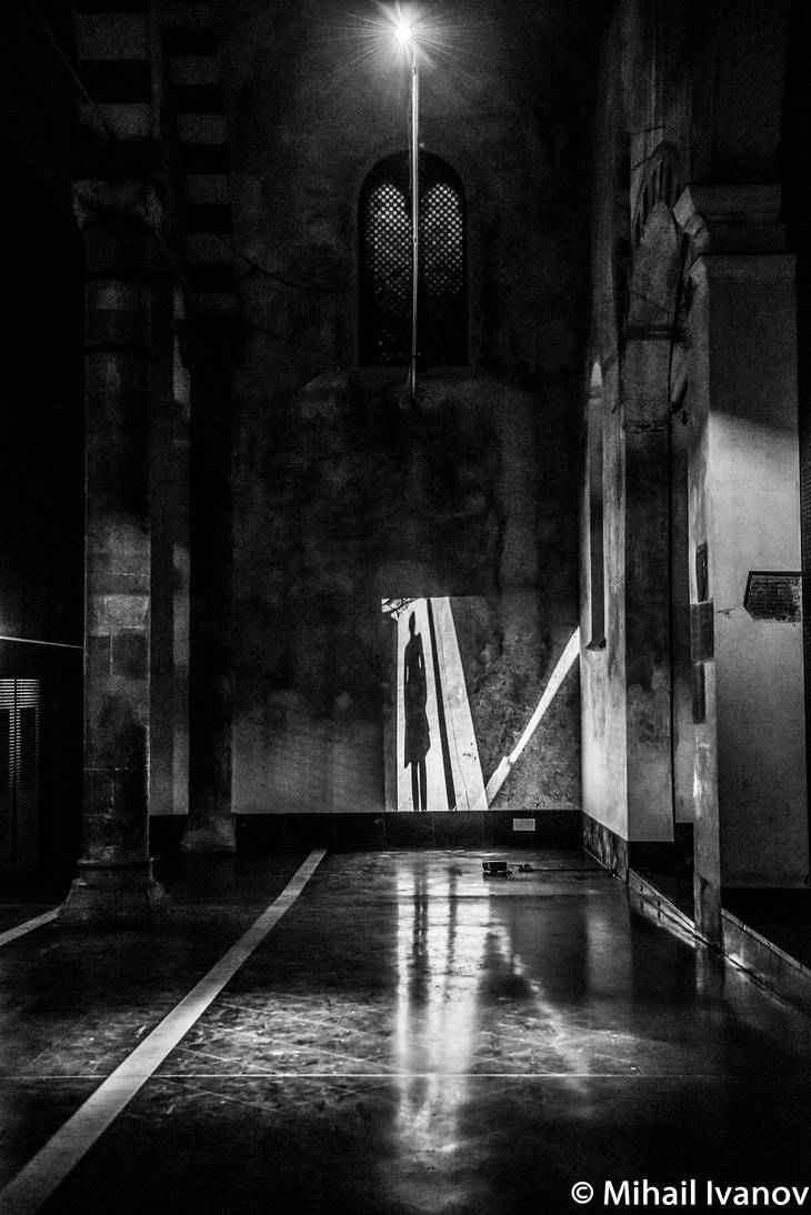 Shadow and Light in consecrated church by Karaul