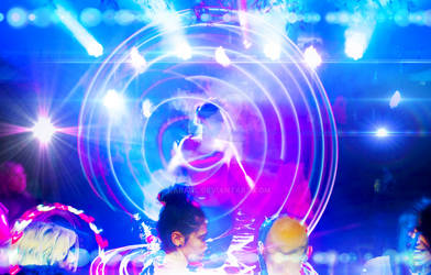 Hula hoop ring with lights,