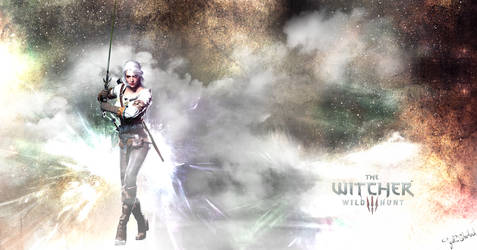 Ciri - The Witcher III by get-sherlock