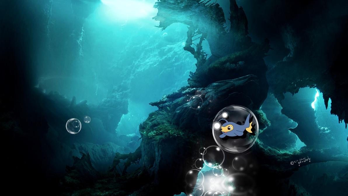 Underwater with Lanturn by get-sherlock