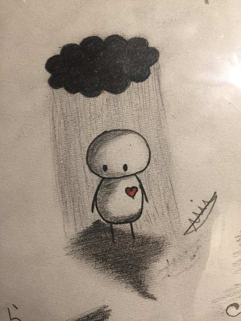 Sad drawing by Stimemia12 on DeviantArt