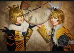 Vocaloid-Mr.Alice-Len and Rin