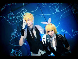 Vocaloid Poker Face  Rin and Len ver