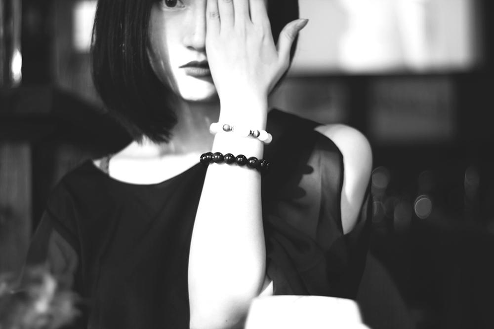 Black and White Portrait2 by CE-Ciel