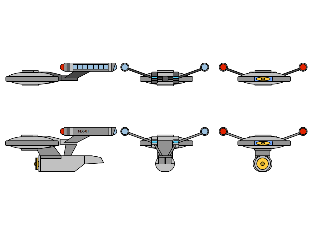 USS Enterprise (NX-01) by 635k