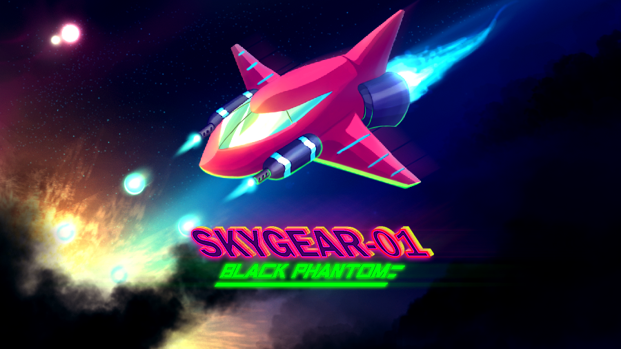 Skygear-01 Black Phantom - Splash Screen by gvbn10