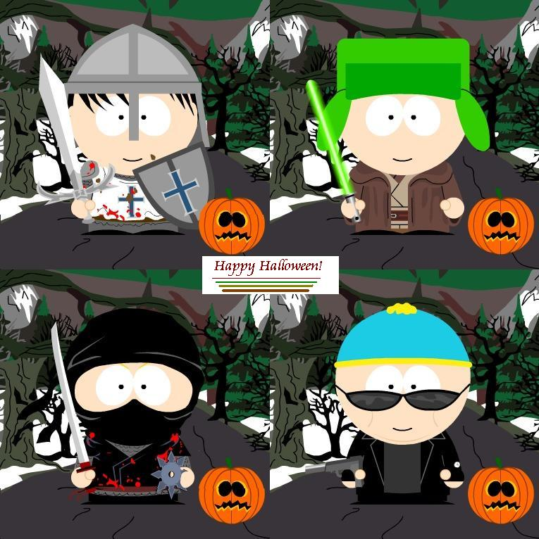 Happy Halloween South Park by KennyXAmber on DeviantArt