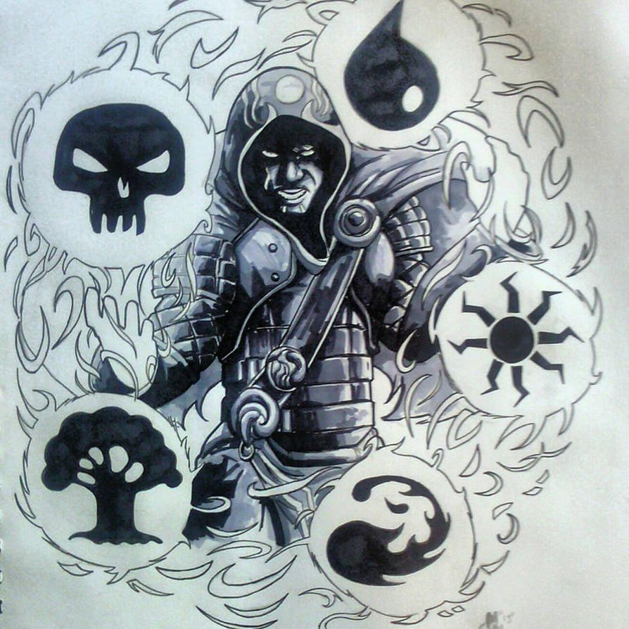 Jace the wizard tattoo design by bluboiart on deviantart for Wizard tattoo designs