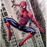 Spider-Man commission by BluBoiArt