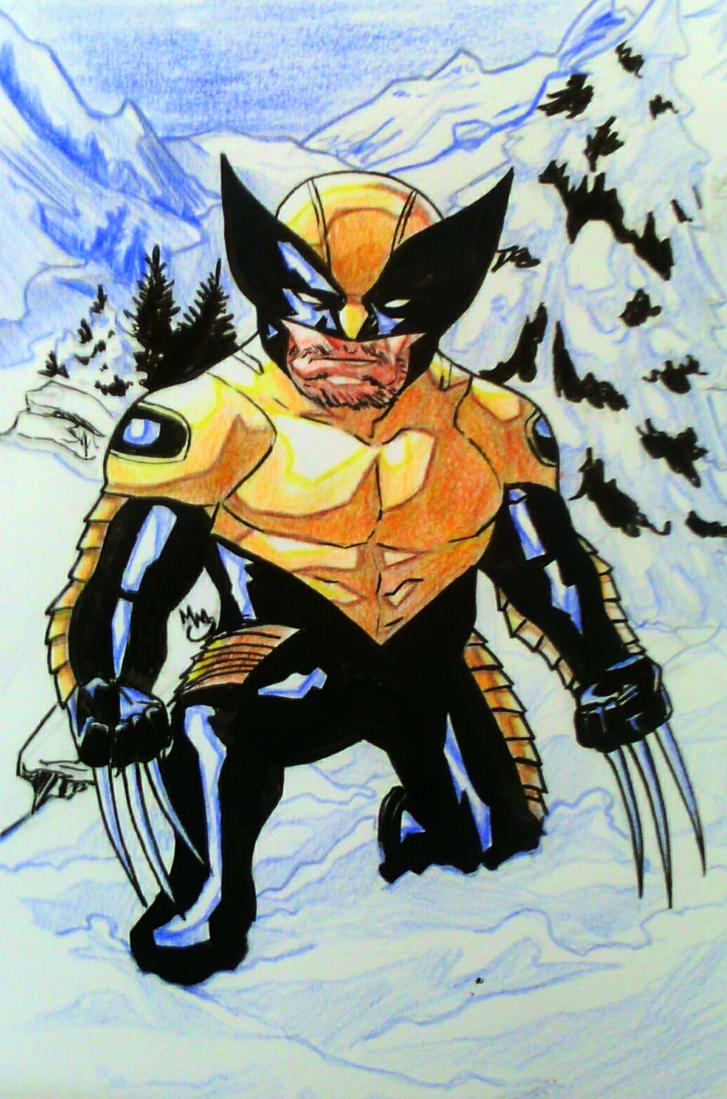 Mini Marvels: Wolverine by BluBoiArt