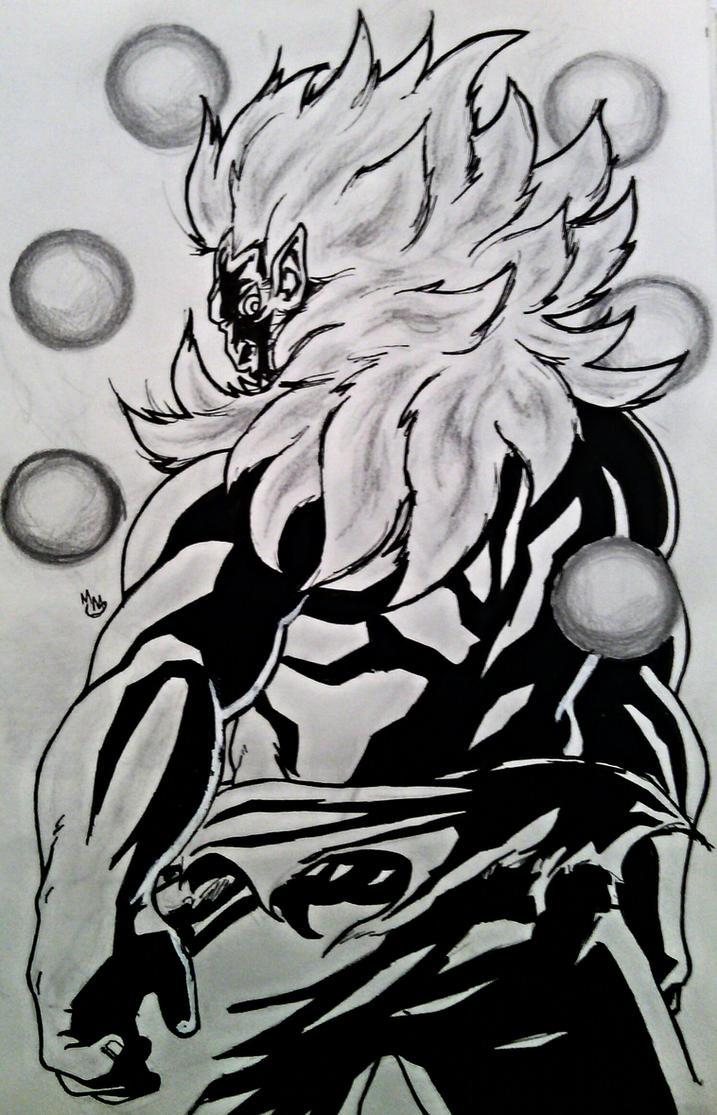 Inktober: Oni Akuma by BluBoiArt