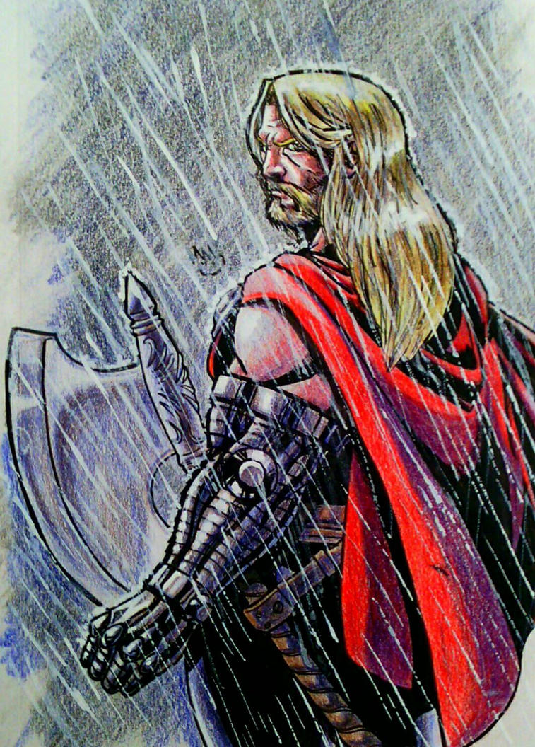 Odinson, Thor No More by BluBoiArt