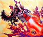 Mini Marvels: Rocket Raccoon by BluBoiArt