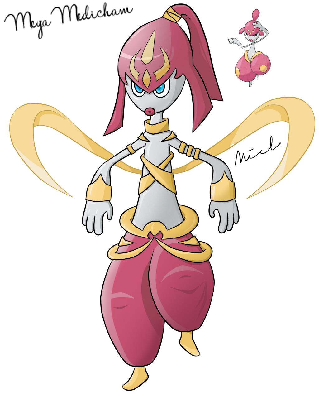 Pokemon Mega Medicham Card Images | Pokemon Images