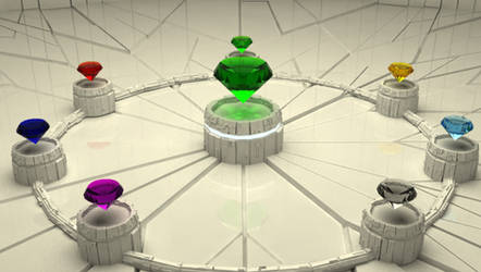 The Seven Chaos Emeralds V2.0 by MattInc