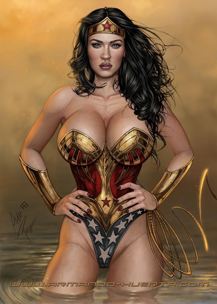 Big tits wonder woman