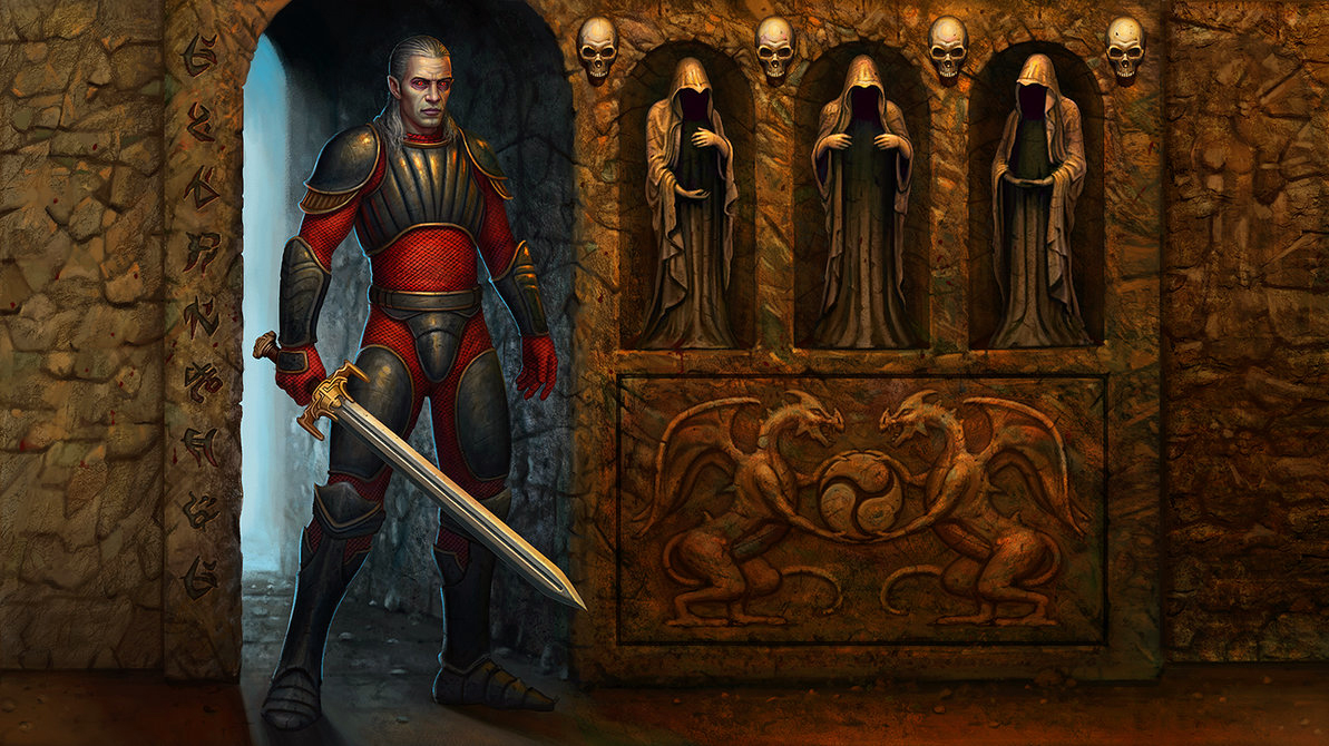 Blood Omen: Legacy of Kain  Inventory screen