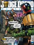 Judge Dredd megazine 352 cover colours