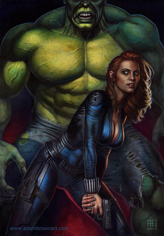 Hulk fucking black widow