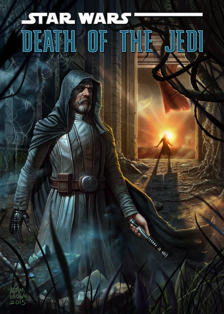 Death of the Jedi by adam-brown