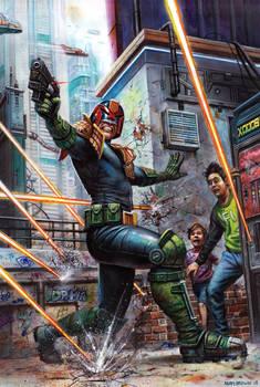 Judge Dredd Megazine No.399 cover