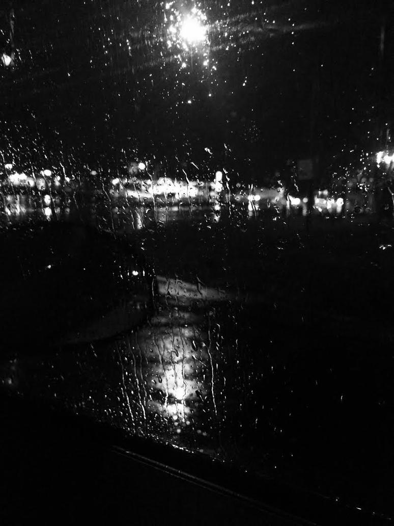Rainy Window by EndlessMuse