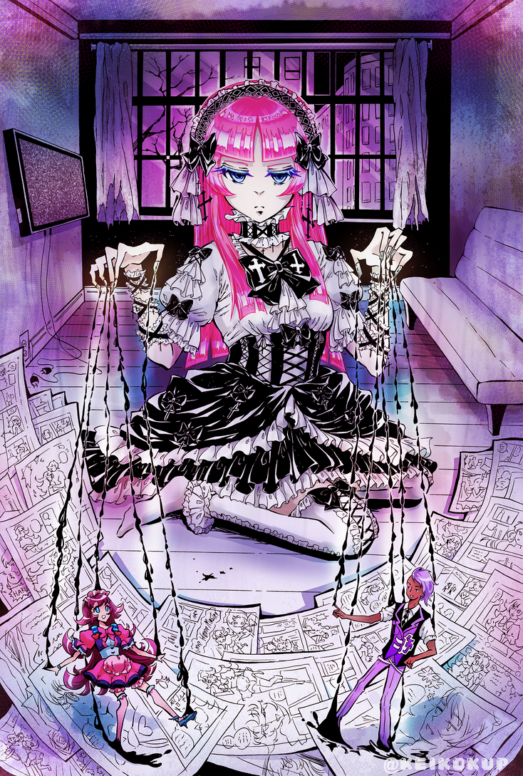 Manga Machine by KeikoKup