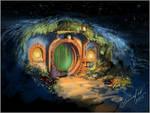 Midnight in Hobbiton (Bag End)