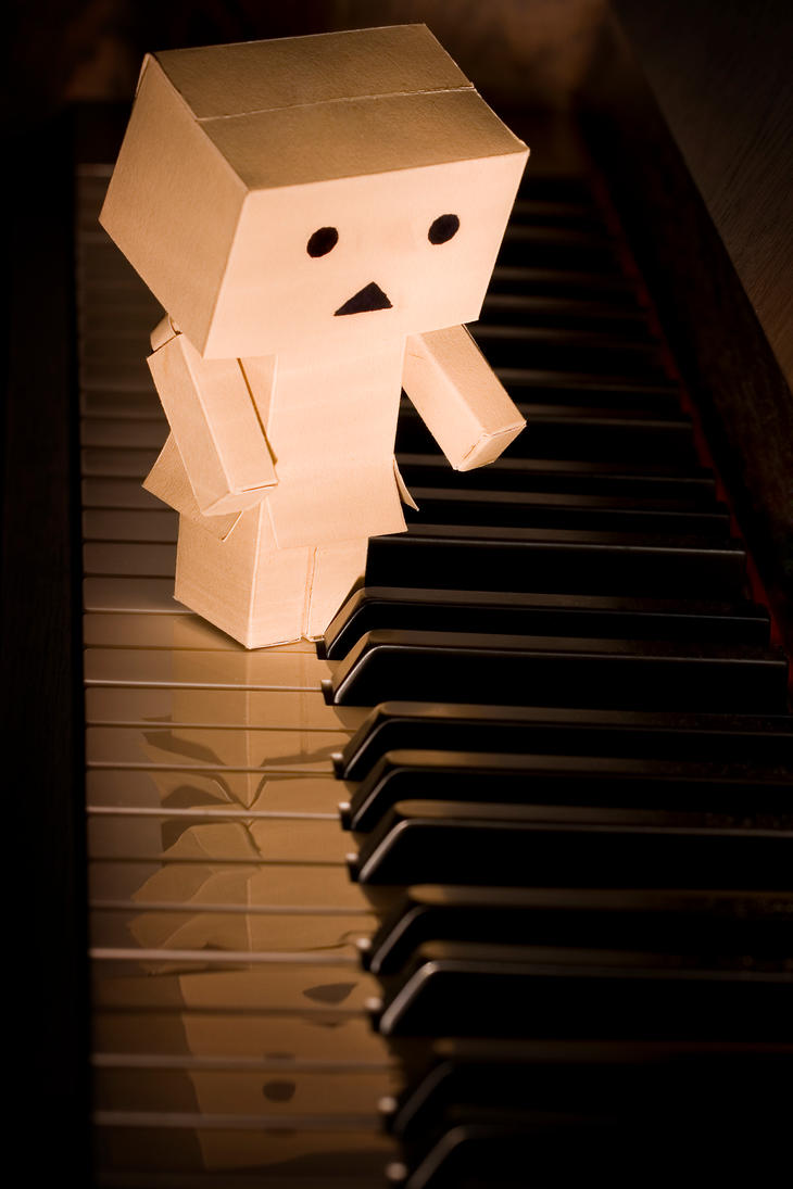 Danbo Piano by pg-images