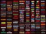 146 Text Effects for Photoshop - Super Bundle
