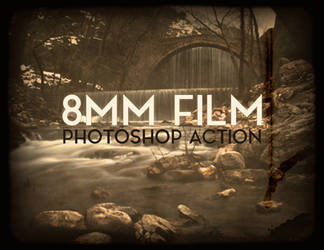 Old 8mm Animated Film Photoshop Action by aanderr