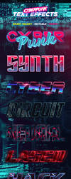 Cyberpunk Text Effects (Paid Content) by aanderr