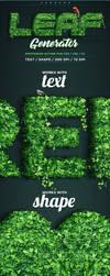 Leaf Generator Photoshop Action by aanderr