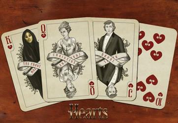 Hearts of the POTO deck by Alekstjarna