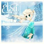 Disney Elsa Chibi