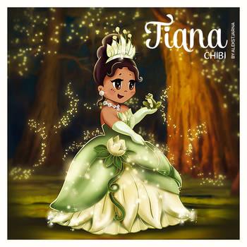 Disney Tiana Chibi by Alekstjarna