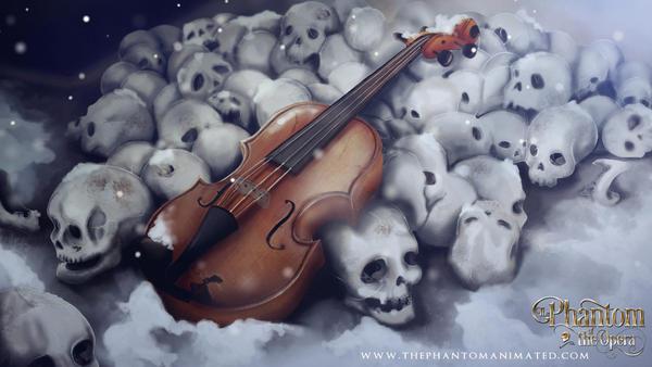 The Phantom of the Opera by Alekstjarna