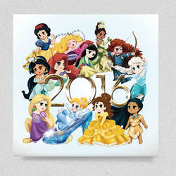 Disney Chibi Calendar 2016
