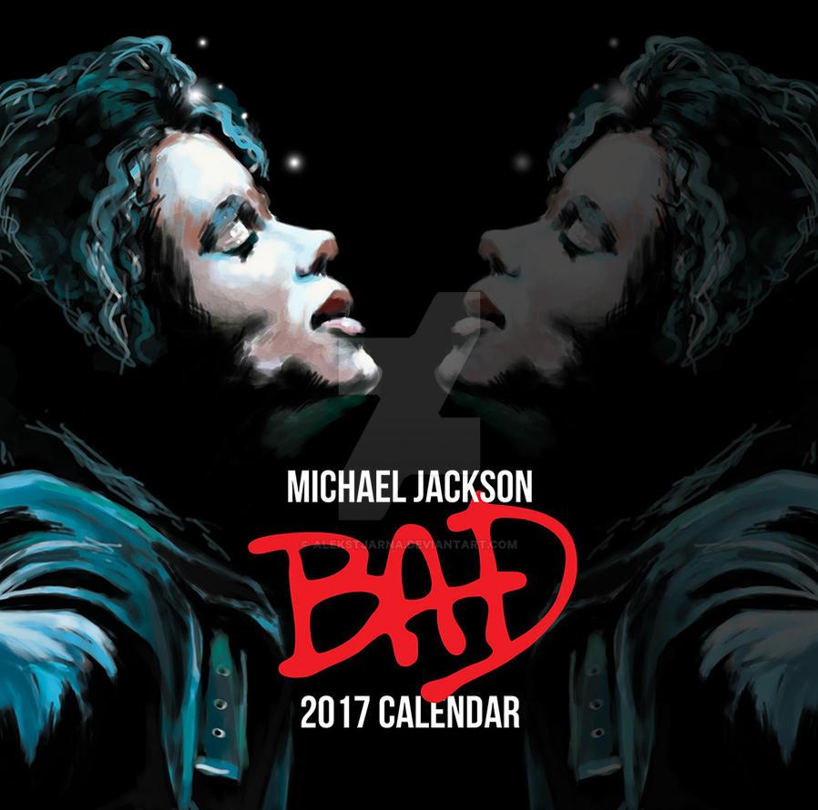 Michael Jackson 2017 Calendar by Alekstjarna
